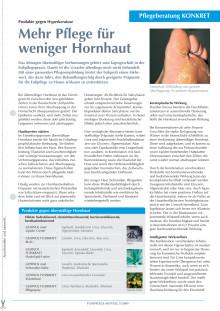 Produkte gegen Hyperkeratose: Mehr Pflege für weniger Hornhaut