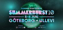 Summerburst firar tio år med en maxad festival i Göteborg