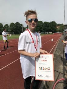 Deltagarrekord för Viggoloppet - ett lopp bara för unga med särskilda behov (NPF)