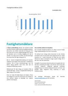 Svenskt Kvalitetsindex om Fastighetsmäklare 2015
