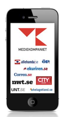 Mediekompaniet väljer Widespace för sin satsning på mobilannonser