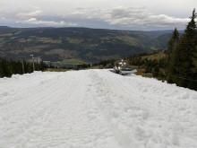 Lader opp til høstferie -  med snø!