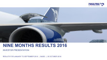 NIne Months Results 2016 – Investor Presentation