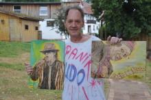 Kunst hilft ihm, den Alltag zu bewältigen: Jörg Ernst Brück lebt und arbeitet auf Hephata-Gut Halbersdorf