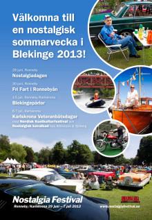Broschyr Nostalgia Festival
