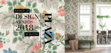 """Boråstapeter wins Plaza Interiör's design award for """"Wallpaper Collection of the Year - 2018"""""""