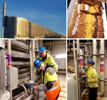 Förberedelser inför drift av rökgasreningsanläggning på Amager Bakke
