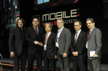 "Nissan LEAF telematics system wins GSMA Award 2011 for ""Best Mobile Innovation for Automotive and Transport"""