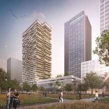 """ZÜBLIN errichtet """"Congreshotel & Residential Tower Overhoeks"""" in Amsterdam"""