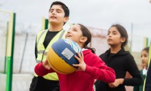 Over 40% of young Londoners live active lives