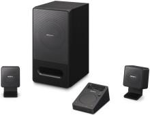Sony lancia il primo sistema audio per PC con dock per iPod/iPhone: SRS-GD50iP a 2.1 canali, per un suono potente e di alta qualità