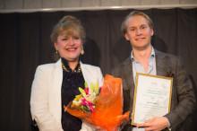 Jakob Dahlberg - nationell vinnare av  SKAPA-pris