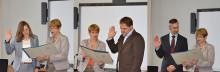 Eine neue Professorin und zwei neue Professoren stärken Lehre und Forschung am Fachbereich Wirtschaft, Informatik, Recht