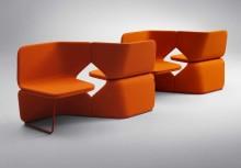 STUDIO – flexibla sittmöbler av UNStudio för optimal kommunikation