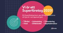 Ahlström Factory korad Superföretag för tredje året i rad