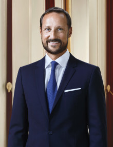Kronprins Haakon besøker bergindustrien i Vestfold