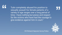 Former Guildford GP found guilty of sexual assault