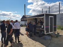 Fest på Havnefronten - AG Gruppen og Bech Gruppen fejrer rejsegilde på etape II