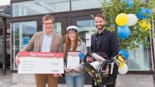 Elev vid Dragonskolan i Umeå belönad med Bygmastipendiet