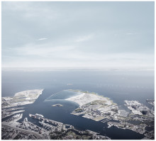 New island in the Copenhagen harbour starts with nature