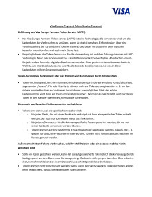 Factsheet Visa Europe Payment Token Service