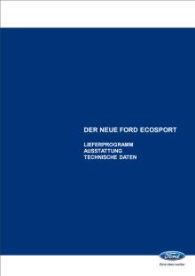 Technische Daten Ford EcoSport