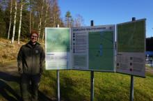 Lättare att hitta rätt vid Bjursjön och till Bohusleden