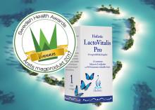 Holistic LactoVitalis Pro utsedd till Årets magprodukt 2017