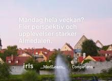 Iris, Medlearn och Competens i Almedalen