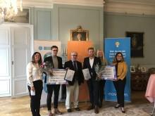 Årets Skapapristagare prisade på slottet i Gävle