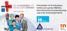 Newsletter KW 42: Informationen zur MEDICA/40. Deutscher Krankenhaustag