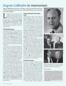 Ingvar Lidholm in memoriam