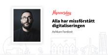 """Mynewsday 2018 - """" Idag så har alla en tryckpress i fickan. Den heter smartphone + internet"""""""