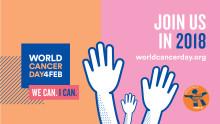 Maailman syöpäpäivää vietetään 4.2.2018