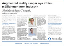 Augmented reality enables new business opportunities to manufacturing industry