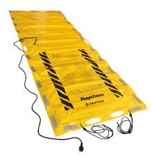 Ny portabel, elektrisk tjältiningsmatta. Enda på marknaden som är godkänd av SEMKO.