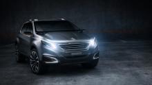 Peugeot på bilsalongen i Peking: Generation 8, Roland Garros och läckra Urban Crossover Concept