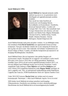 Jacob Mühlrad - Biografi