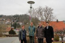Schönberg rüstet Straßenbeleuchtung auf LED um