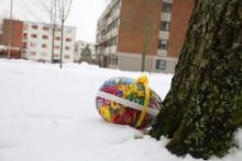 Påskeeggjakt på Kringsjå studentby / Easter Egg Hunt Kringsjå studentby