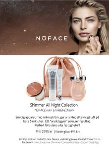 NuFACE Shimmer All Night Collection Mini Julkit 2019 4A Skylt