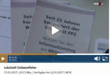 """FPZ beim WDR in der """"Lokalzeit Südwestfalen"""""""