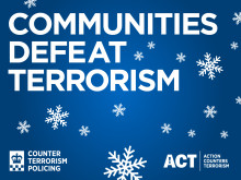 Stay alert for signs of terrorism over the festive season