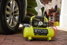Ryobin® uusi 18V kompressori