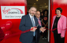 Virgin Trains opens stylish First Class Lounge in Doncaster