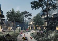 Arkitema er prekvalifisert til miljøvennlige boliger på Fornebu