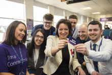 Local politicians hail growing BT contact centre in Dundee