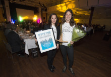 Vinnare av årets skidpriser: Kåbdalis, Föreningen Snö och Systerskap, Charlotta Bürger-Bäckström och Per Eriksson, Kläppen