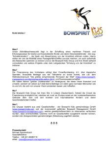 Bowspirit Kids Group - Kurz erzählt