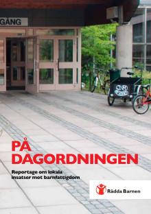 På dagordningen - reportage om lokala insatser mot barnfattigdom